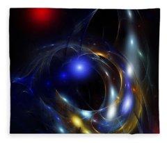Dark Matter Revealed Fleece Blanket