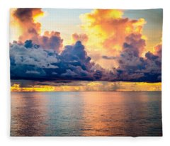 Dark Skies Fleece Blanket