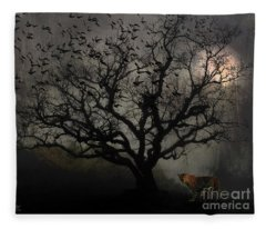 Dark Valley Fleece Blanket