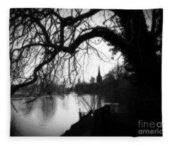 Darkness Looms Over The Avon Fleece Blanket