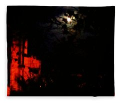Darkness Fleece Blanket