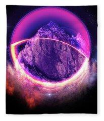 Darkside Of The Moon Fleece Blanket
