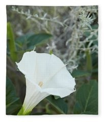 Datura Fleece Blanket