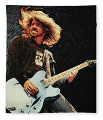 Dave Grohl Fleece Blanket