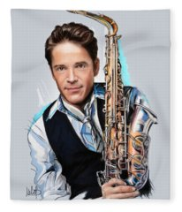 Dave Koz Fleece Blanket