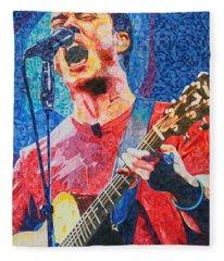 Dave Matthews Squared Fleece Blanket