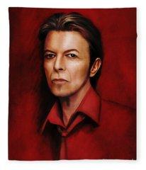 David 6 Fleece Blanket