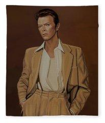 David Bowie Four Ever Fleece Blanket