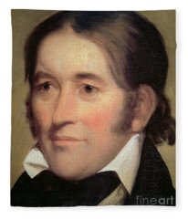 Davy Crockett  Fleece Blanket