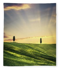Dawn Chorus Fleece Blanket