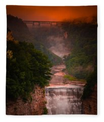 Dawn Inspiration Fleece Blanket