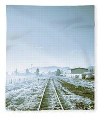 Dawn Line Fleece Blanket