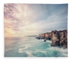 Dawn Of The Night Fleece Blanket