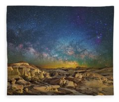 Dawn Of The Universe Fleece Blanket