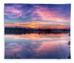 Dawns Early Light Fleece Blanket