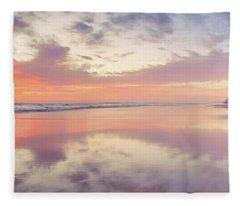 Daybreak In Paradise Fleece Blanket