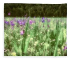 Daydreams In A Meadow Fleece Blanket