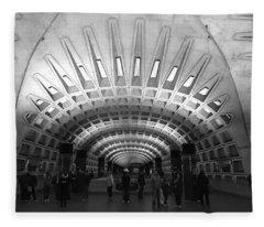 D.c. Metro Fleece Blanket