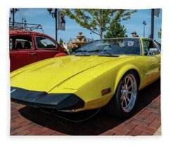 De Tomaso Pantera Fleece Blanket