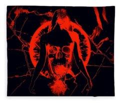 Dead Again Fleece Blanket