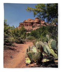 Deadman's Pass Fleece Blanket