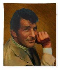 Dean Martin 01 Fleece Blanket