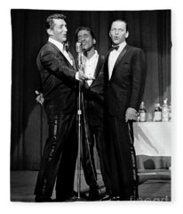 Dean Martin, Sammy Davis Jr. And Frank Sinatra. Fleece Blanket