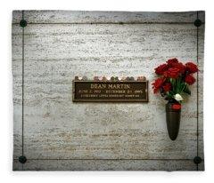 Dean Martin's Final Resting Place Fleece Blanket
