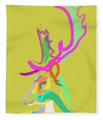 Dear Deer Fleece Blanket