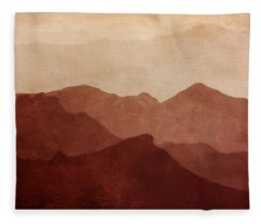 Death Valley Fleece Blanket