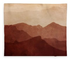 Death Valley Fleece Blankets