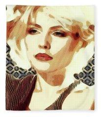 Debbie Harry, Blondie Fleece Blanket