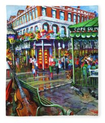 Decatur Street Fleece Blanket