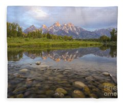 Deceptive Calm Fleece Blanket