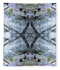 Deciduous Dimensions Fleece Blanket