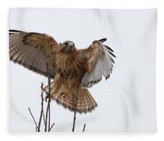 Decisive  Moment Fleece Blanket