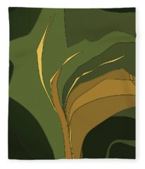 Deco Tile Fleece Blanket