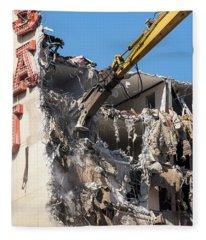 Fleece Blanket featuring the photograph Deconstructivism by Alex Lapidus