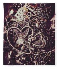 Decorating A Love Nest Fleece Blanket