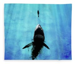 Deep Blue Sea Fleece Blanket