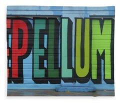Deep Ellum Wall Art Fleece Blanket