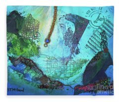 Deep Sea Life Fleece Blanket