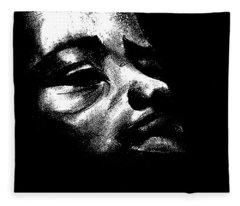 Deep  Sorrow  Fleece Blanket