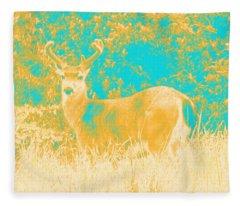 Deer #1 Fleece Blanket