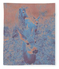 Deer #10 Fleece Blanket