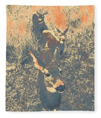Deer #11 Fleece Blanket