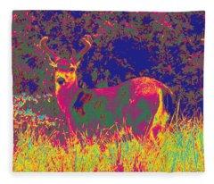 Deer #8 Fleece Blanket