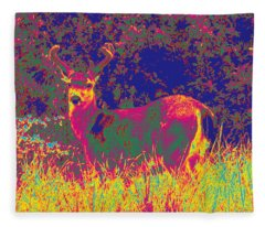 Deer #8 Fleece Blanket