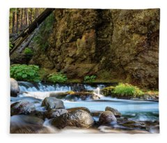 Deer Creek Fleece Blanket