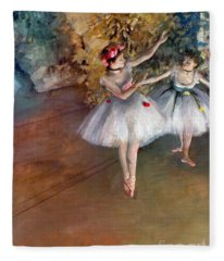 Degas: Dancers, C1877 Fleece Blanket